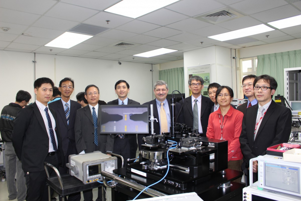 MPI Corporation visited CIC RF and MEMS Testing Laboratories