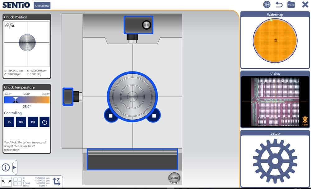 MPI Unique Air-bearing Stage - Probe Station