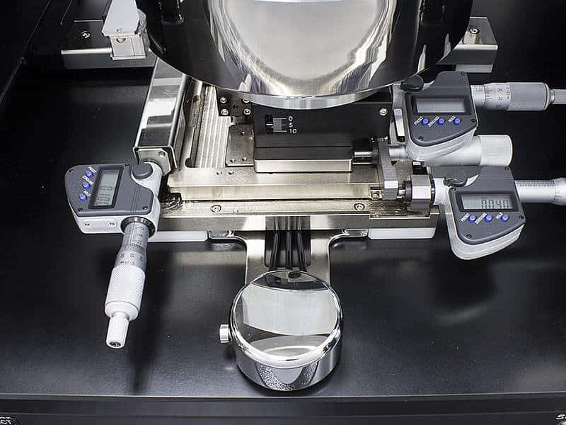 MPI TS150-THZ - Air Bearing Stage with Optional Fine-Adjustment Micrometers