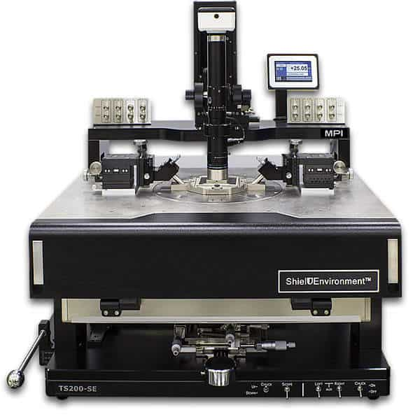 200mm Wafer Probing Station with Shield Environment - low noise On-wafer measurements