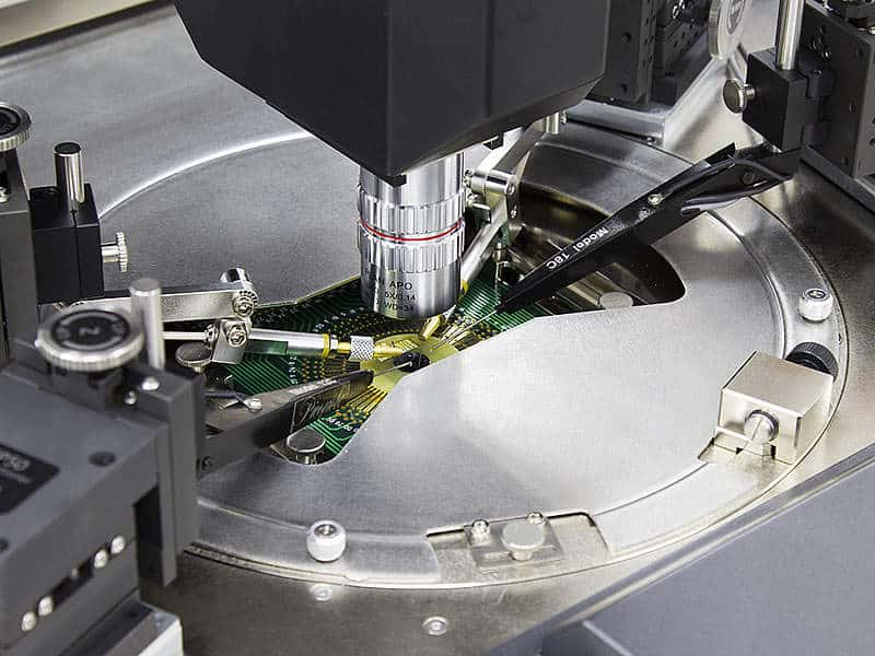 MPI TS3000 - Simultaneously Using Probe Cards & MicroPositioners